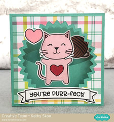 You're Purr-fect Valentine