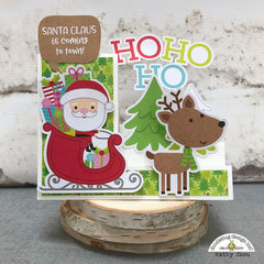 Doodlebug Design | Christmas Town Side Step Card