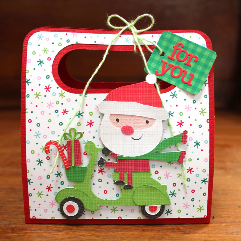 *** Doodlebug Design *** Here Comes Santa KCup Holders