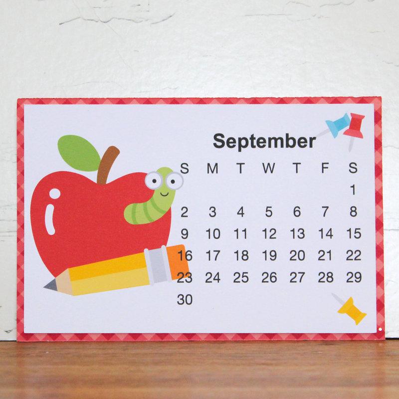 Doodlebug Design Desk Calendar