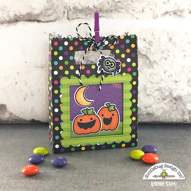 Doodlebug Design|Candy Carnival Shadow Box Treat Bag