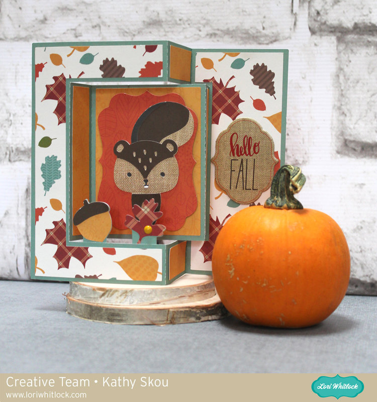 Lori Whitlock   Shutter Card Squirrel
