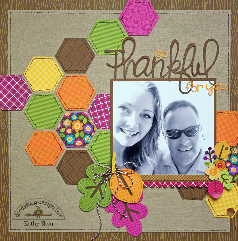 *** Doodlebug Design *** So Thankful for You