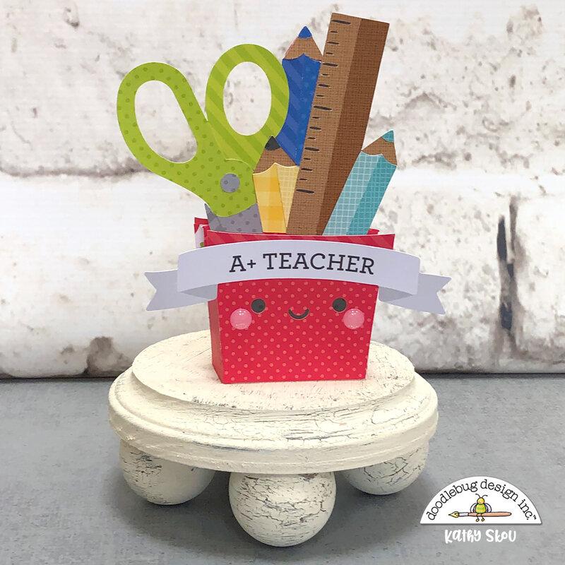 Doodlebug Design | School Days Box Card