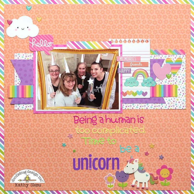 *** Doodlebug Design *** Time to be a Unicorn