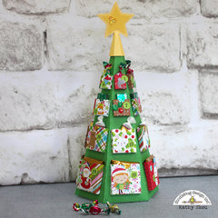 Doodlebug Design | Christmas Town Tree Advent Calendar