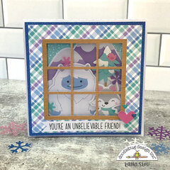 Doodlebug Design | Winter Wonderland Window Card