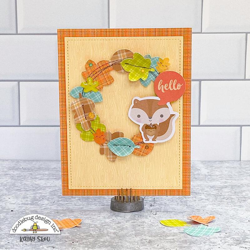 Doodlebug Design | Pumpkin Spice Card
