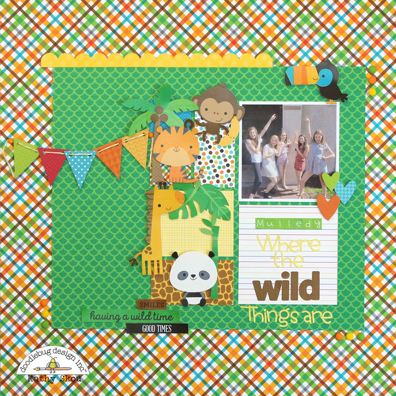 *** Doodlebug Design *** Where the Wild Things Are