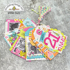 Doodlebug Design | Hey Cupcake Tag Mini Album