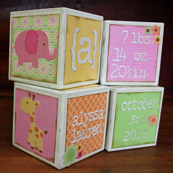 Doodlebug Baby Blocks