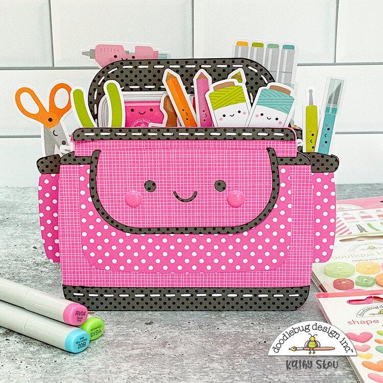 Doodlebug Design | Cute & Crafty Caddie Mini Album