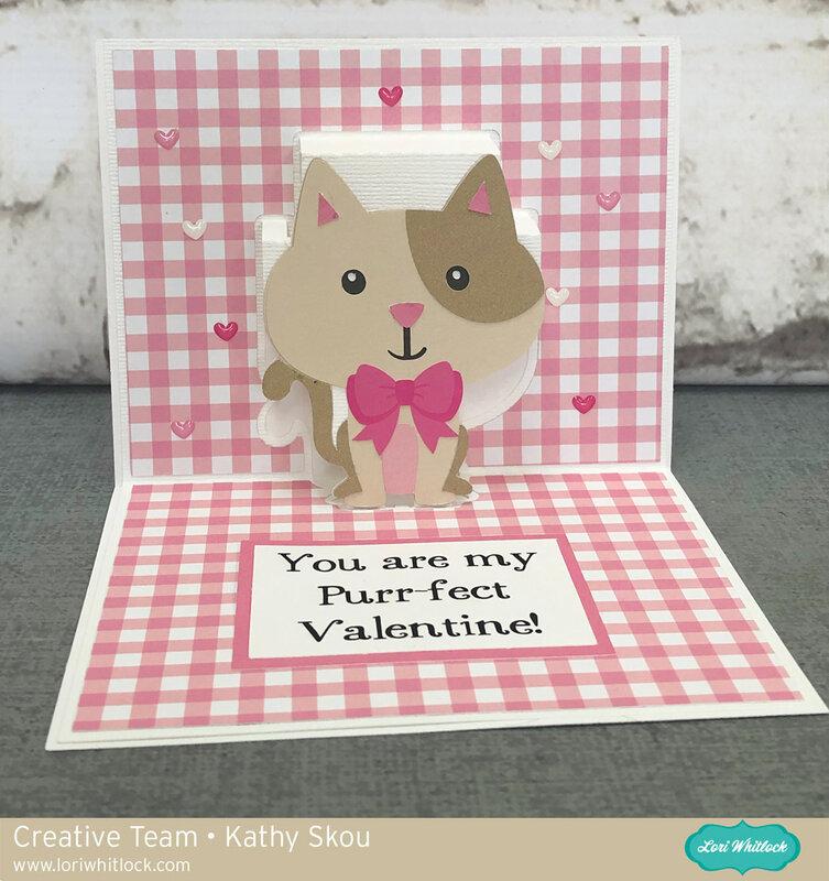 Pop Up Cat Card Tutorial