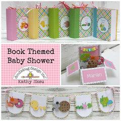 Doodlebug Design:  Book Themed Baby Shower