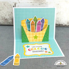 Doodlebug Design | School Days Pop Up Card