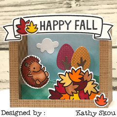 Happy Fall Box Card