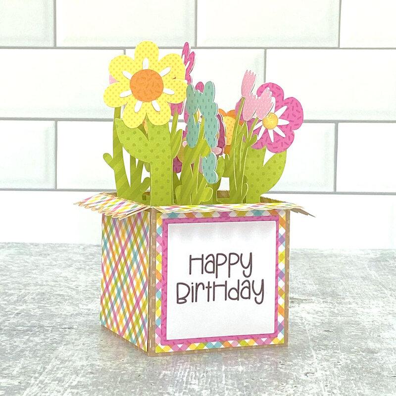 Lori Whitlock   2-Way Flower Box Card
