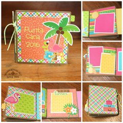 *** Doodlebug Design *** Fun in the Sun Paper Bag Mini Album