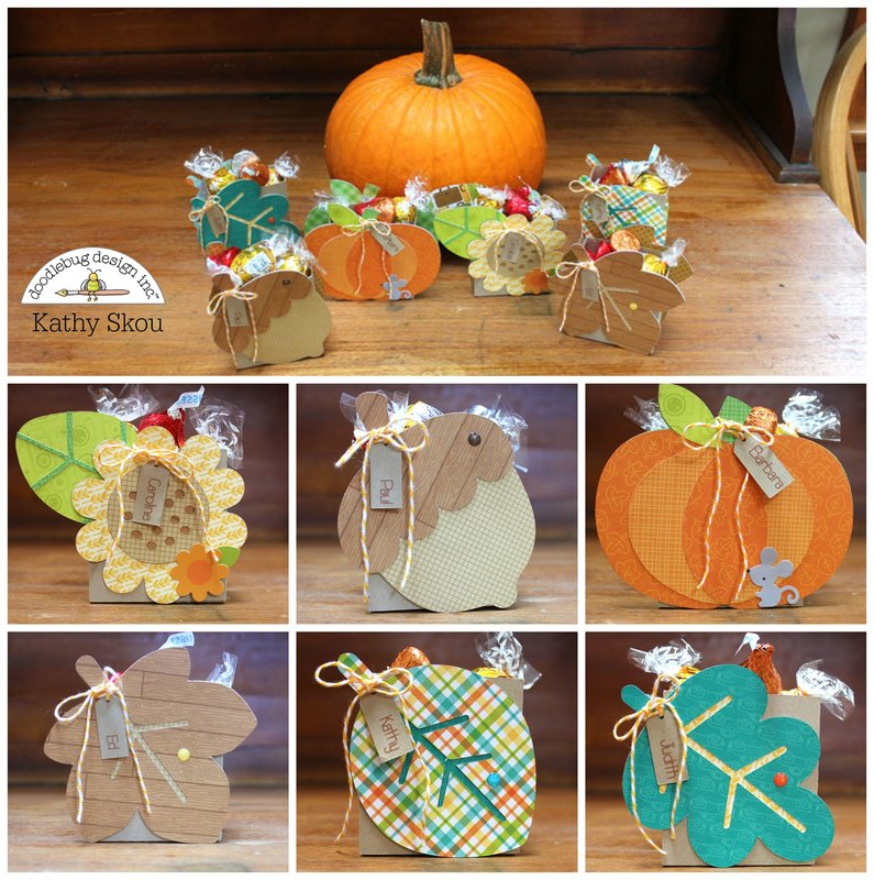 *** Doodlebug Design *** Thanksgiving Place Cards