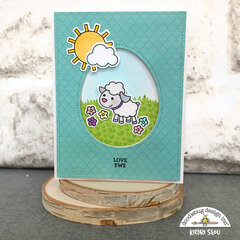 Doodlebug Design | Hoppy Easter Love Ewe Special Card