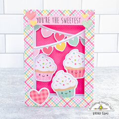 Doodlebug Design | You're the Sweetest Shadow Box Card