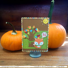 Fall Hello Card