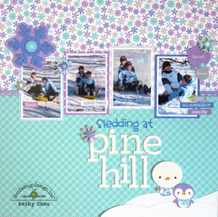 *** Doodlebug Design *** Sledding at Pine Hill