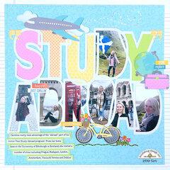 Doodlebug Design | Study Abroad Layout