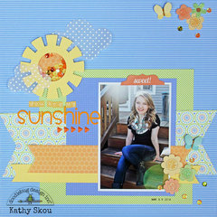 ***Doodlebug Design*** You are my Sunshine