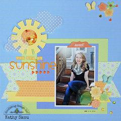 ***Doodlebug Design*** You are my Sunshine