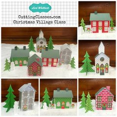 Lori Whitlock Christmas Village