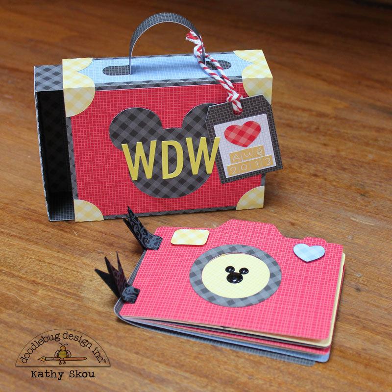 ***Doodlebug Design *** Disney Mini Album