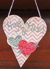 Hanging Valentine's Treat Box