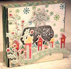 Christmas keepsake box * cosmo cricket *