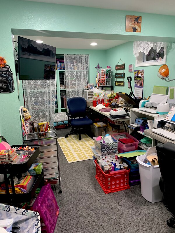 Cleaned my Craft Room 2019