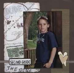 Adam, Second Grade