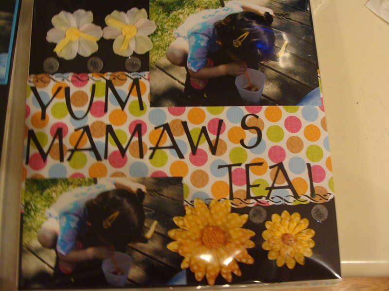 Mammaws tea right side