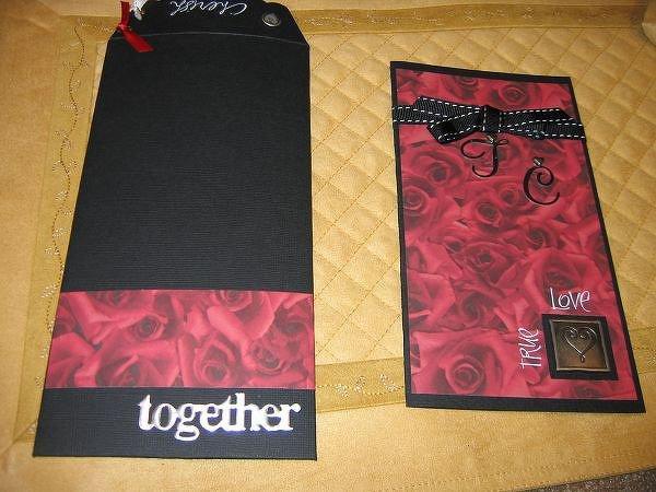 Wedding Card & Envelope