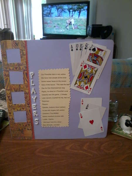 Side 2 of the Pinochle Club Layout, you'll notice,