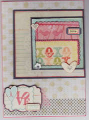 Birdie Love card by Lane