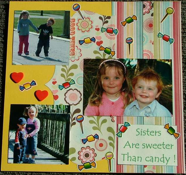 sisters are sweeter than candy !