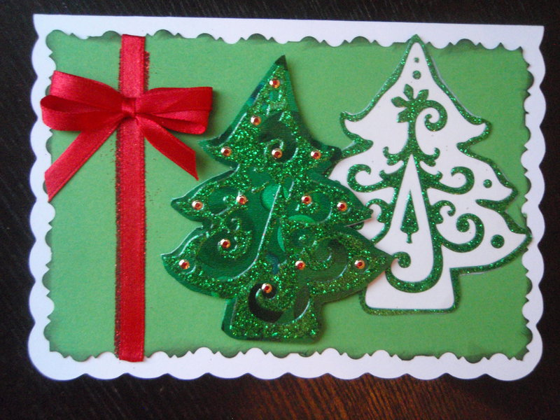 Must have a Christmas tree card