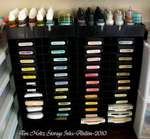 Storage for my Tim Holtz Distress Inks.