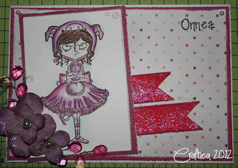 Card 01/2012: Angry Ballerina