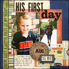 His First Day