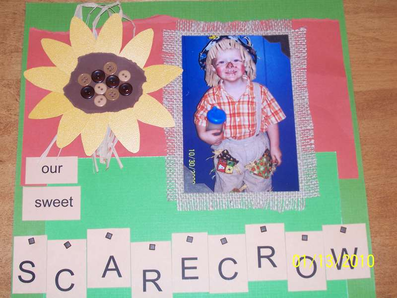 OUR SWEET SCARECROW BOY