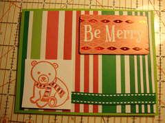 Be Merry--Xmas Card