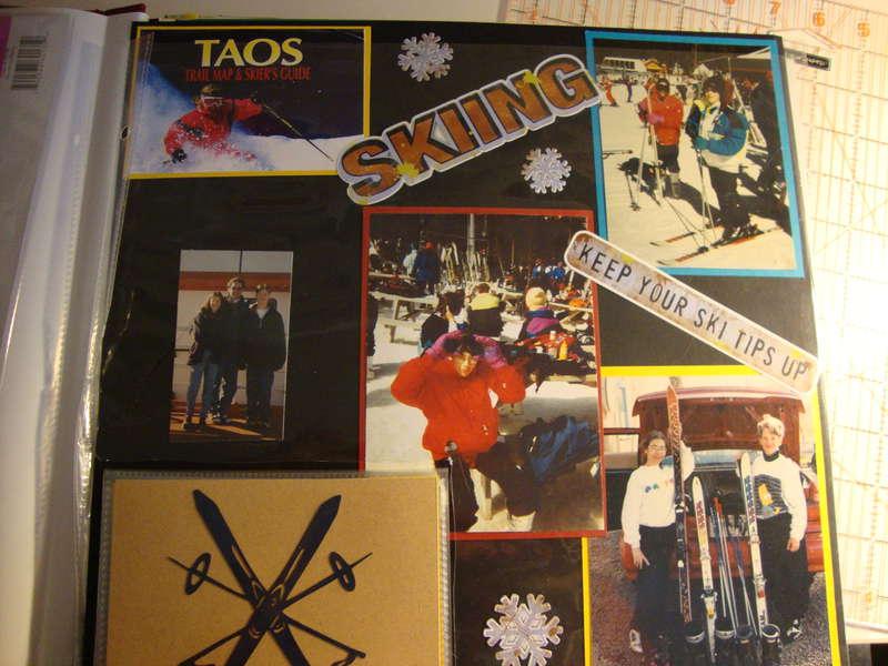 Skiing in Taos