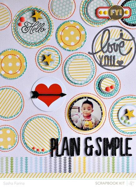 Plain & Simple *Studio Calico February Kit*