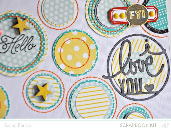 Plain & Simple *Studio Calico February Kit*